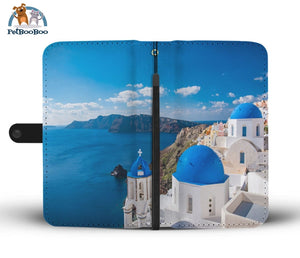 Mykonos Greece Wallet Phone Case** Promo 2/1 Iphone X / Xs Case