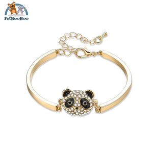 Panda Bracelet/bangle For Women With Rhinestone 200000147