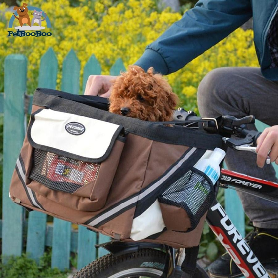 Portable Pet Dog Bicycle Carrier For Small Dogs And Cats Dogs