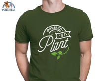Powered By Plant T-Shirt For Men And Women Army Green / S 200000783