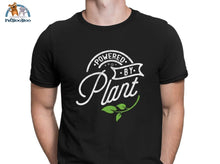 Powered By Plant T-Shirt For Men And Women Black / S 200000783