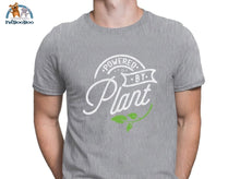 Powered By Plant T-Shirt For Men And Women Gray / S 200000783