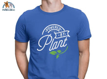 Powered By Plant T-Shirt For Men And Women Royalblue / S 200000783