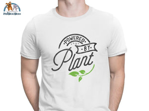Powered By Plant T-Shirt For Men And Women White / S 200000783
