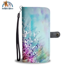 Rainbow Flowers Wallet Phone Case** Promo 2/1 Case