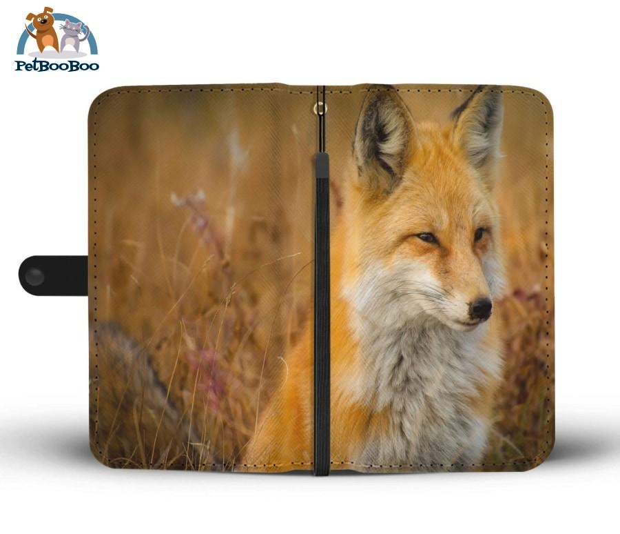Red Fox Wallet Phone Case** Promo 2/1 Iphone X / Xs Case