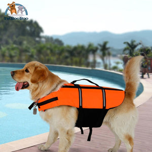 Reflective Life Jacket Dogs For Swimming Training Or Boating Orange / S Dogs
