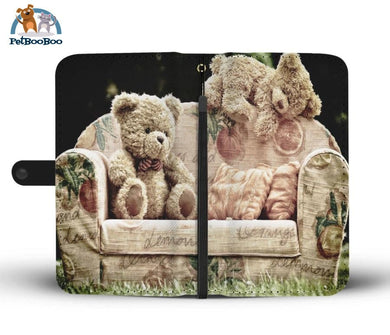 Relaxing Teddies Wallet Phone Case** Promo 2/1 Iphone X / Xs Case