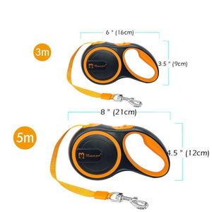 Retractable Dogs Leash Extending Reflective Leashes Dogs
