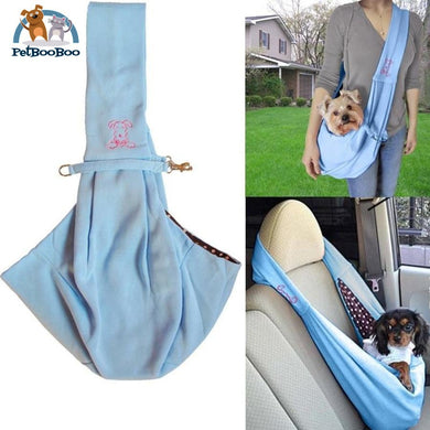 Reversible Sling Carrier Bag Tote Blue Tote Bag
