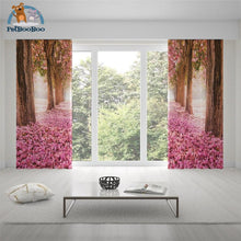 River In The Pink Forest Curtains Curtains