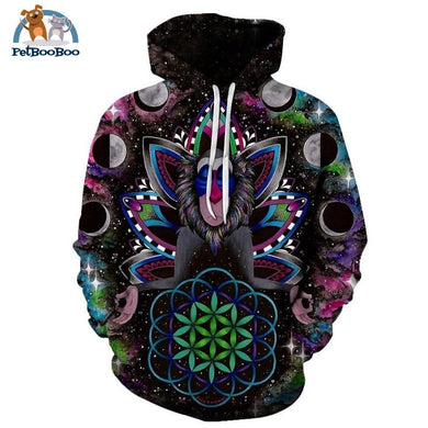 Sage Monkey By Brizbazaar Art 3D Print Hoodie For Men And Women Lms100 / S 200000344