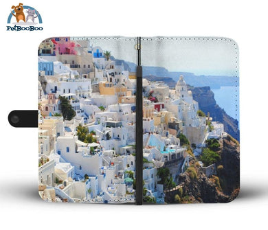 Santorini Greece Wallet Phone Case** Promo 2/1 Iphone X / Xs Case