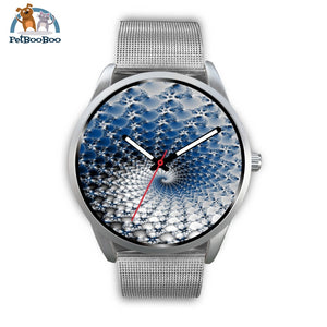 Snowflake Silver Watch Mens 40Mm / Metal Mesh