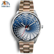 Snowflake Silver Watch Mens 40Mm / Rose Gold Metal Link