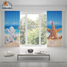 Starfish & Coral Curtains Curtains