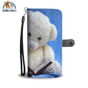 Teddy Is Reading Wallet Phone Case** Promo 2/1 Case