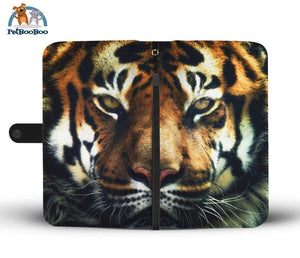 Tiger Face Wallet Phone Case** Promo 2/1 Iphone X / Xs Case