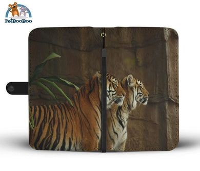 Two Tigers Wallet Phone Case** Promo 2/1 Iphone X / Xs Case