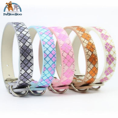 Vegan Leather Dog Collar For Small Medium Large Dogs 200003720