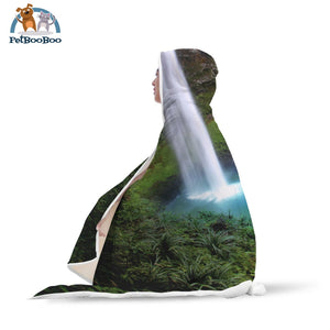 Waterfalls Hooded Blanket