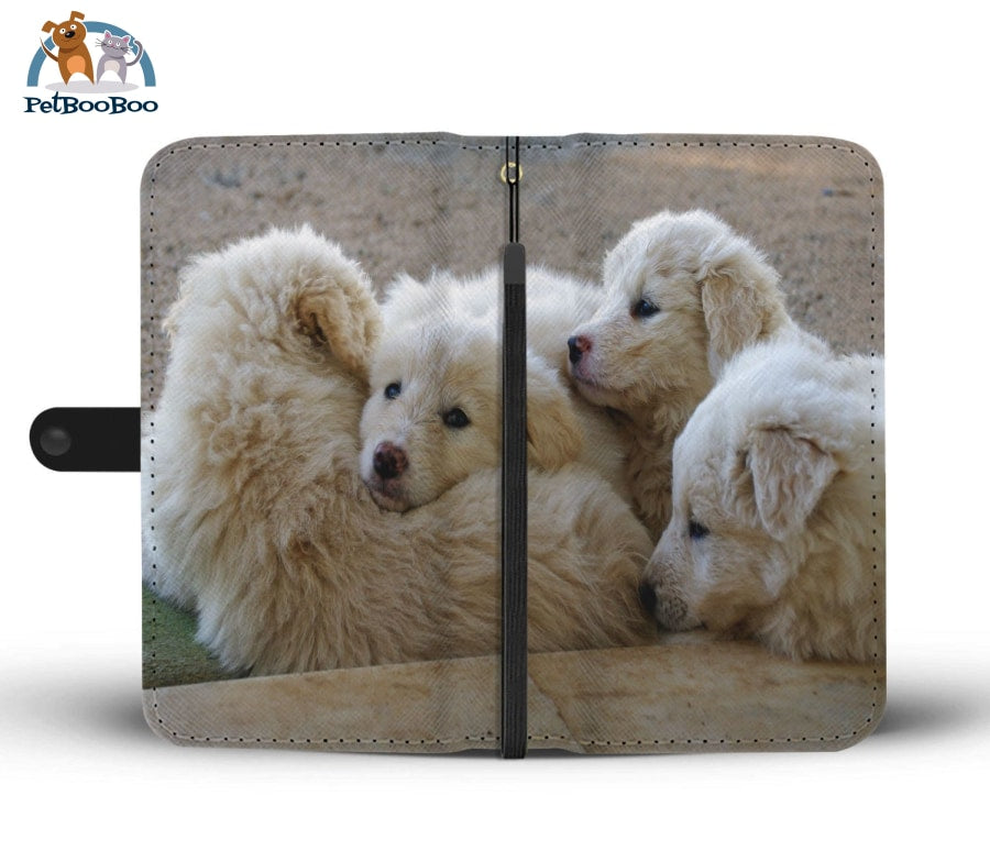 White Fluffy Dogs Wallet Phone Case** Promo 2/1 Iphone X / Xs Case