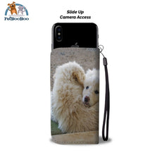 White Fluffy Dogs Wallet Phone Case** Promo 2/1 Case