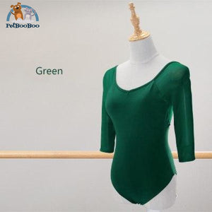 Yoga Black Mesh Leotard For Women Green / L 165 To 170Cm 200001875