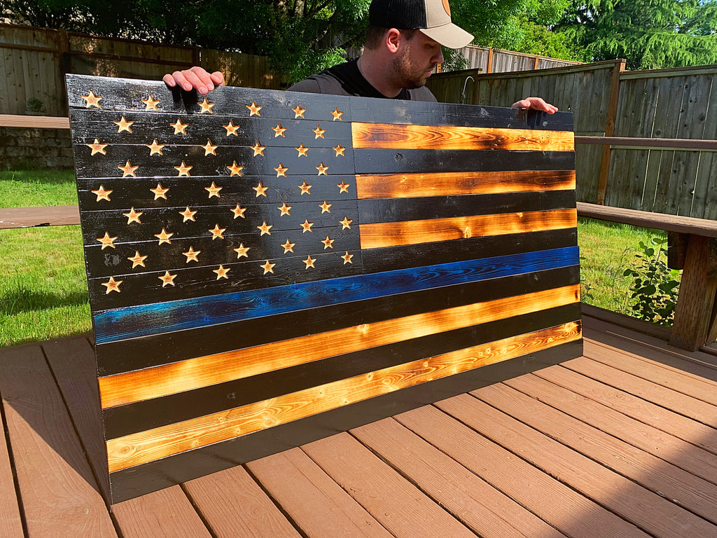Large Thin Blue Line 33x60