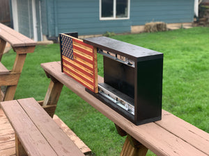 Locking Flag Cabinet