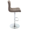 Brage Living Madison Slip Chair Tufted Style Barstool