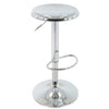 BR1981001-Chrome Round Adjustable Barstool