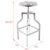Brage Living Apollo Adjustable Counter and Bar Stool