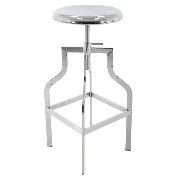 BR1981024-Height Adjustable Metal Barstool