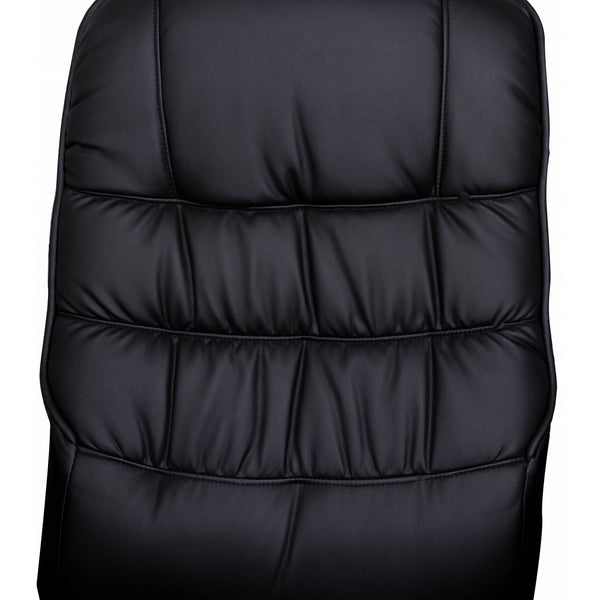 VF1541006-Black High Back Manual Swivel Recliner with Ottoman