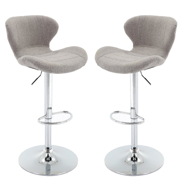 Brage Living Adonis Height Adjustable Counter & Barstool Set (Set of 2)