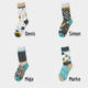 Weekend pack - Socksy unisex sock for men and women