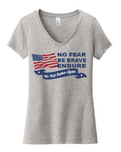 Load image into Gallery viewer, No Fear, Be Brave, Endure T-Shirt