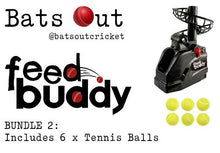 Load image into Gallery viewer, Feed Buddy Tennis Ball Bundle (Machine with 6 Tennis Balls)