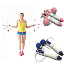 Load image into Gallery viewer, Home Gym Full Body Exerciser - Electronic Jump Skip Rope for any one - VistaShops - 2