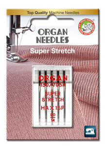 Ace de cusut Organ Super Stretch