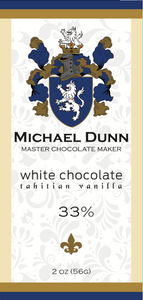 33% White Chocolate Tahitian Vanilla