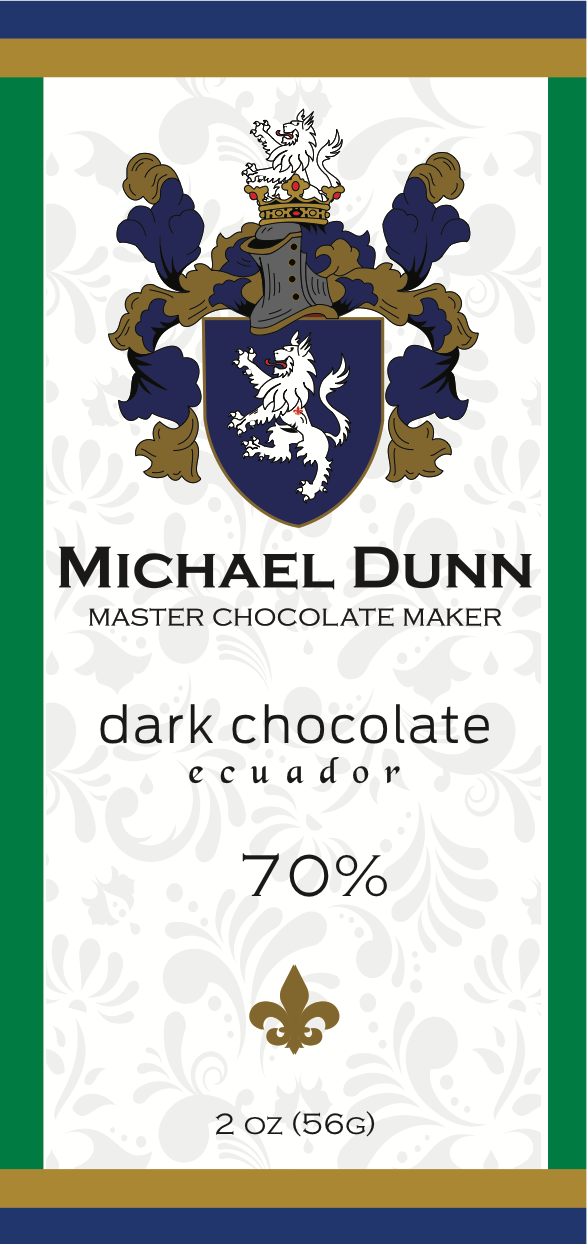 64% Dark Chocolate Ecuador