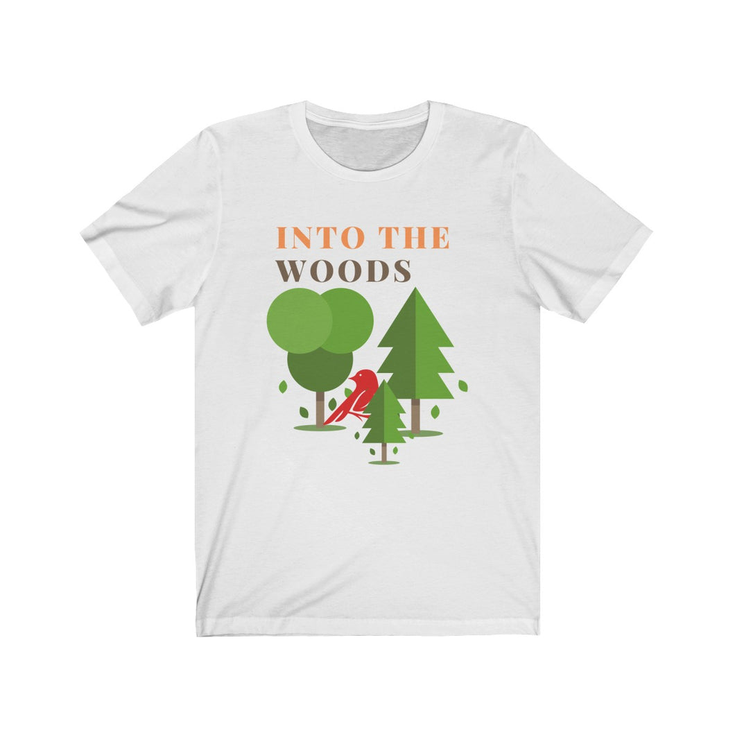 Into the Woods Vintage Camp Style T-Shirt