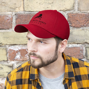 Red Bird Theater Hat - all black logo