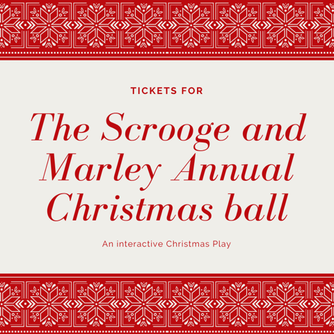 Scrooge + Marley Annual Christmas Ball ADULT Tickets