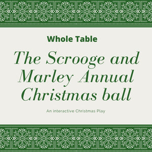 Scrooge + Marley Annual Christmas Ball WHOLE TABLE