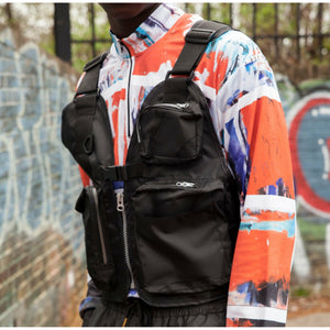 MARE TACTICAL VEST - BLACK streetwear