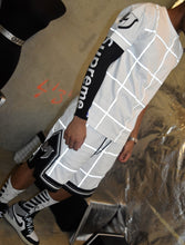 MARE REFLECTIVE GRID SHORTS - BLACK streetwear