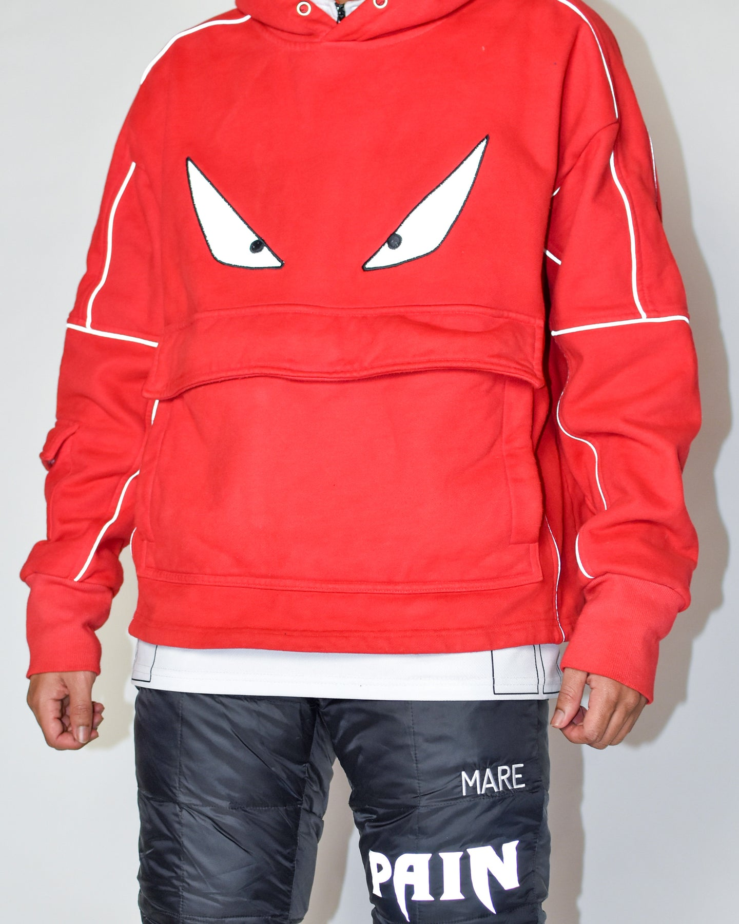 VIZION UTILITY HOODIE - High Risk Red